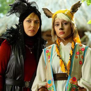 لیلا اوتادی و ترلان پروانه در فیلم «پیشونی سفید2»