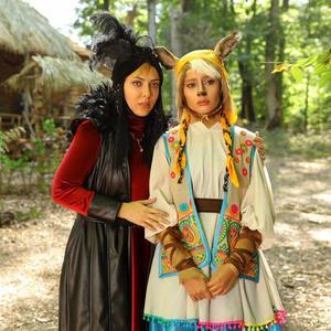 لیلا اوتادی و ترلان پروانه در فیلم سینمایی «پیشونی سفید2»