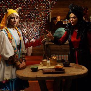 لیلا اوتادی و ترلان پروانه در «پیشونی سفید2»