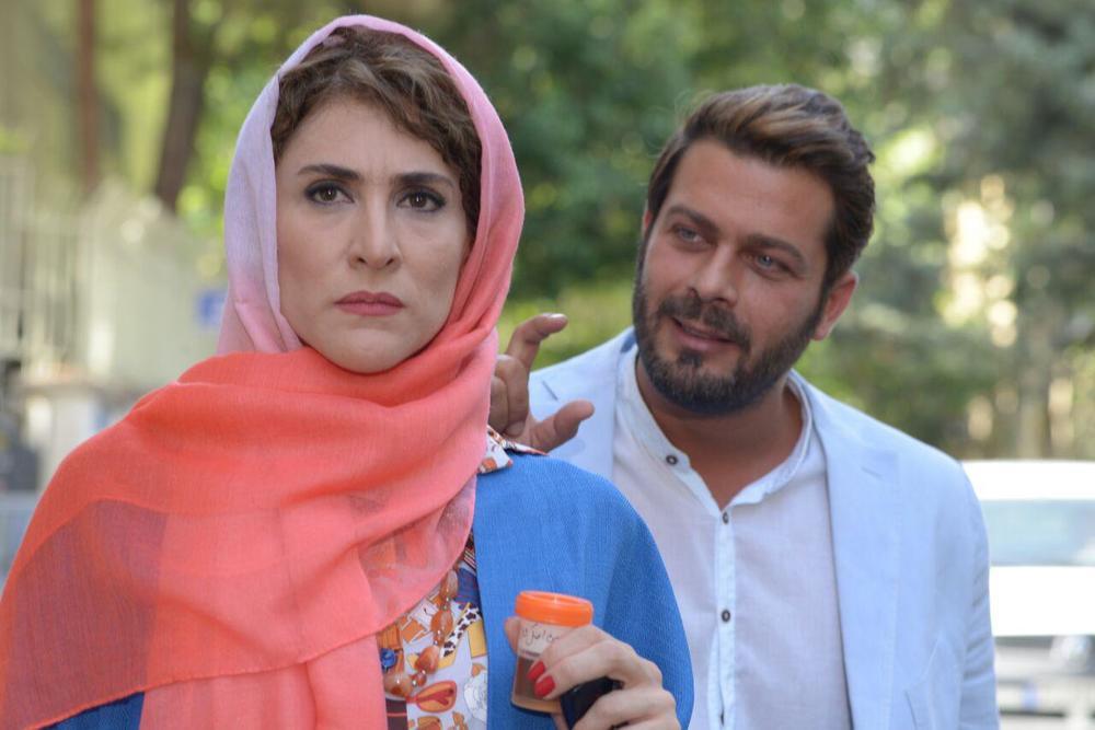 ویشکا آسایش و پژمان بازغی در فیلم سینمایی «من و شارمین»