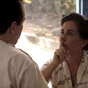 گلوریا پیرس در نمایی از فیلم «نیسه: قلب دیوانگی»(Nise: Heart of Madness)