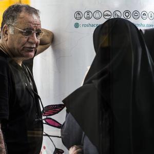 رسول صدرعاملی در پشت صحنه فیلم «سال دوم دانشکده من»
