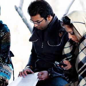 لیلا اوتادی، فرهاد نجفی و الناز شاکردوست در فیلم «حرکت اول»