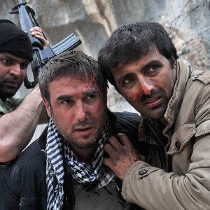 امین زندگانی و باسم مغنیه در فیلم شهابی از جنس نور