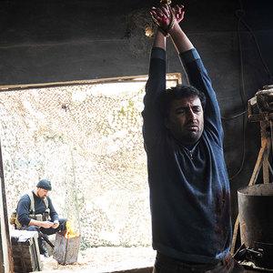 تصویری از امین زندگانی د ر  فیلم شهابی از جنس نور