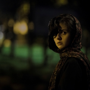 مهسا علافر در نمایی از فیلم کوتاه «تاریکی»