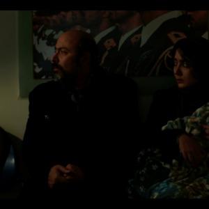 ایمان افشاریان و الهه شهپرست در فیلم کوتاه «حضور»