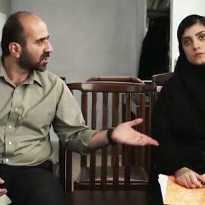 مهدی حسینی نیا و بهاره ریاحی در فیلم کوتاه «سوادکوهی»