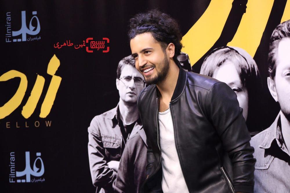 مهرداد صدیقیان در اکران مردمی فیلم «زرد» در پردیس سینمایی چارسو
