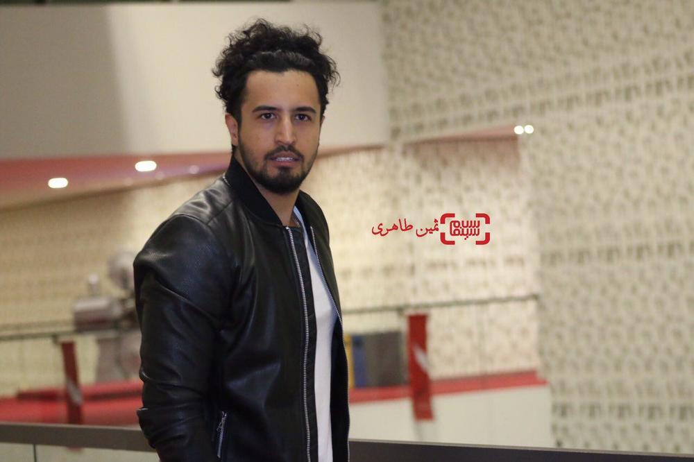 مهرداد صدیقیان در اکران مردمی فیلم سینمایی «زرد» در پردیس سینمایی چارسو