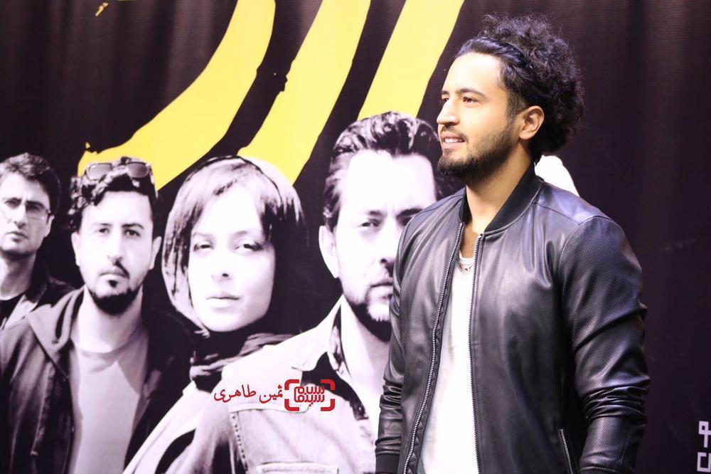 مهرداد صدیقیان در اکران مردمی «زرد» در سینما چارسو