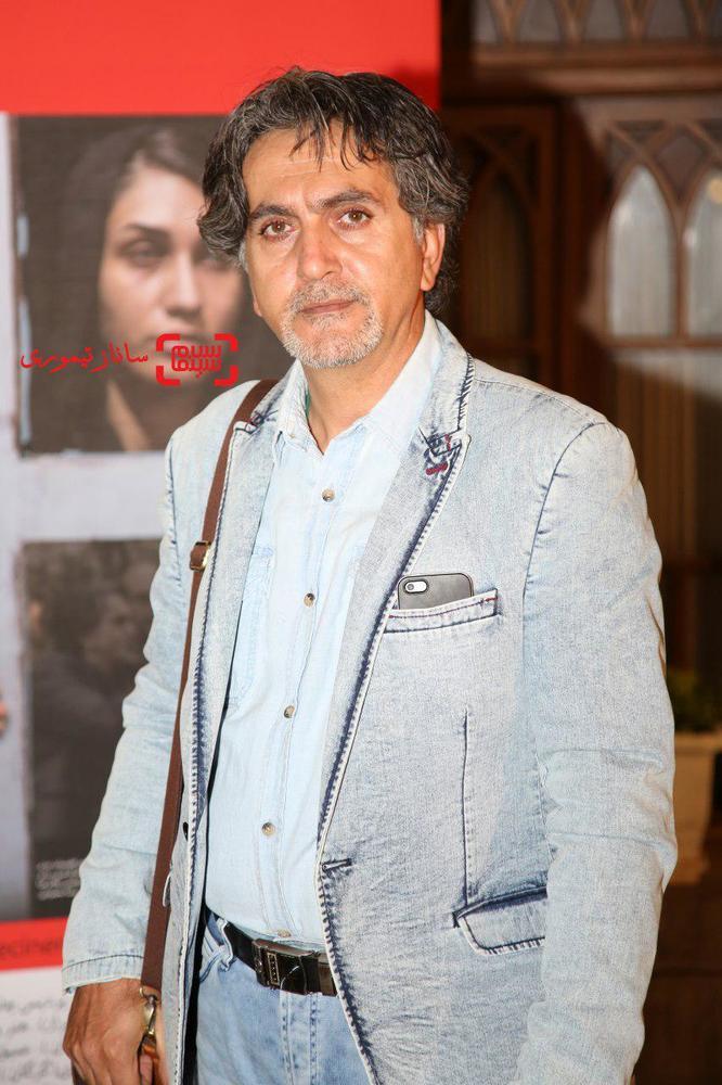 غلامرضا باقری در اکران خصوصی فیلم سینمایی «خانه»(ائو)