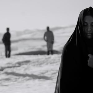حمیده براتی در نمایی از فیلم کوتاه «مانیکور»