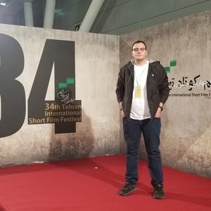 آبتین سلیمی طاری کارگردان فیلم کوتاه «حضور» در سی و چهارمین جشنواره فیلم کوتاه تهران