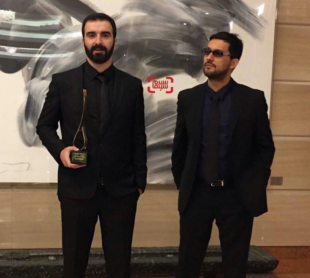 حامد بهداد و محسن قرایی در جشنواره فیلم بوسان