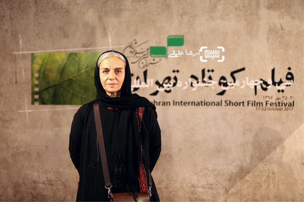 مریم بوبانی بازیگر فیلم کوتاه «مسکوت» در سی و چهارمین جشنواره فیلم کوتاه تهران