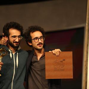 بهمن ارک و بهرام ارک برنده جایزه بهترین کارگردانی سی و چهارمین جشنواره فیلم کوتاه تهران