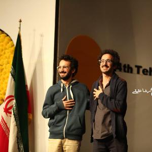 بهمن ارک و بهرام ارک برنده جایزه بهترین کارگردانی سی و چهارمین جشنواره فیلم کوتاه تهران برای فیلم «حیوان»