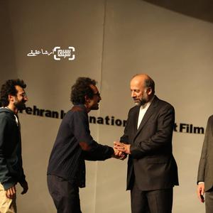بهمن ارک و بهرام ارک برنده جایزه بهترین کارگردانی جشنواره سی و چهارم فیلم کوتاه تهران برای فیلم «حیوان»