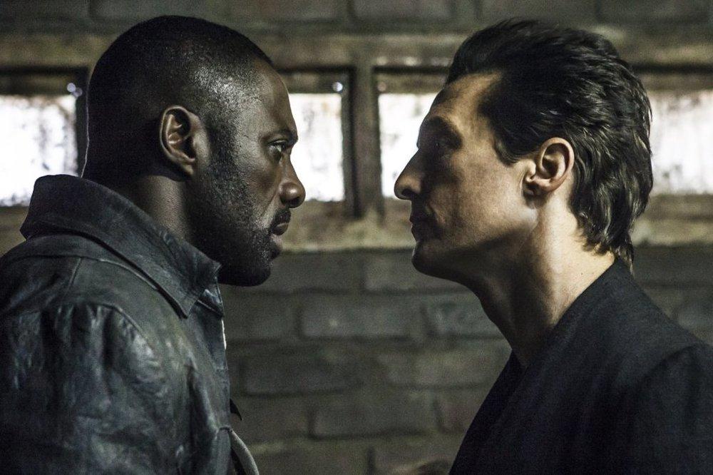 ادریس البا و متیو مک کانهی در فیلم «برج تاریک»(Dark Tower)