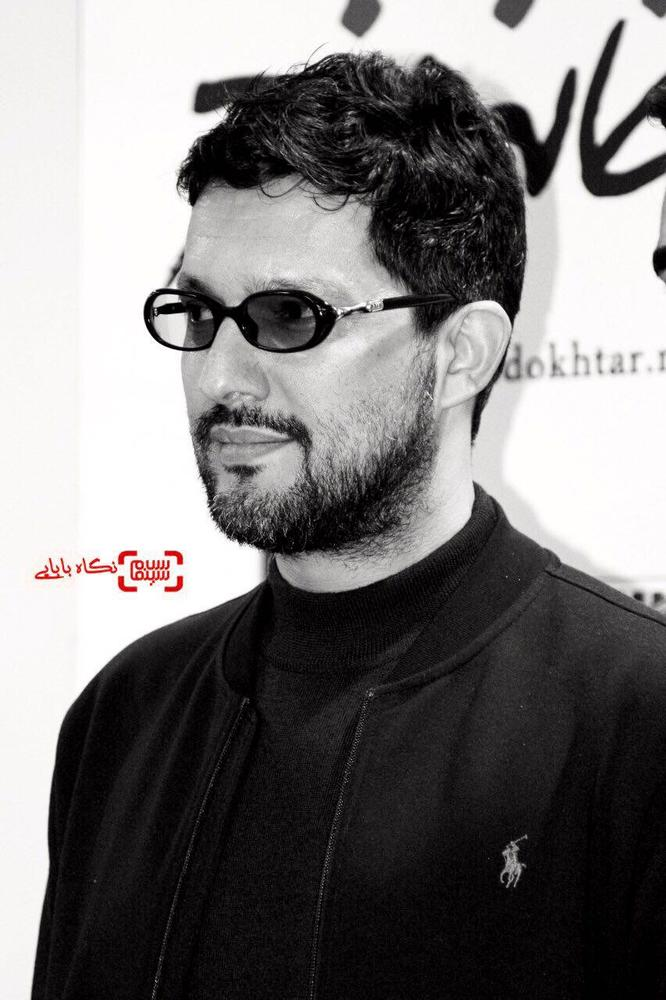 حامد بهداد در اولین اکران مردمی فیلم «خانه دختر» در سینما کوروش