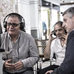 پرویز شهبازی، مسعود ردایی و رسول صدرعاملی در پشت صحنه فیلم «سال دوم دانشکده من»