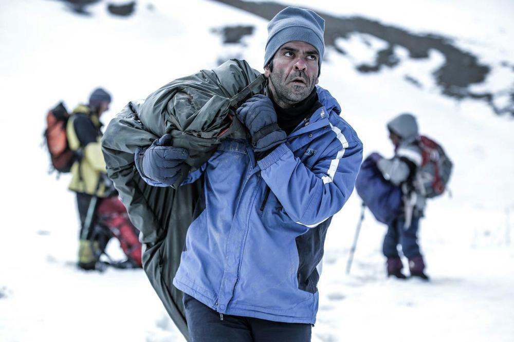 بانیپال شومون در نمایی از فیلم کوتاه «استون»