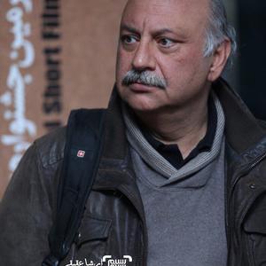 بابک کریمی بازیگر فیلم کوتاه «نگاه» در جشنواره فیلم کوتاه تهران
