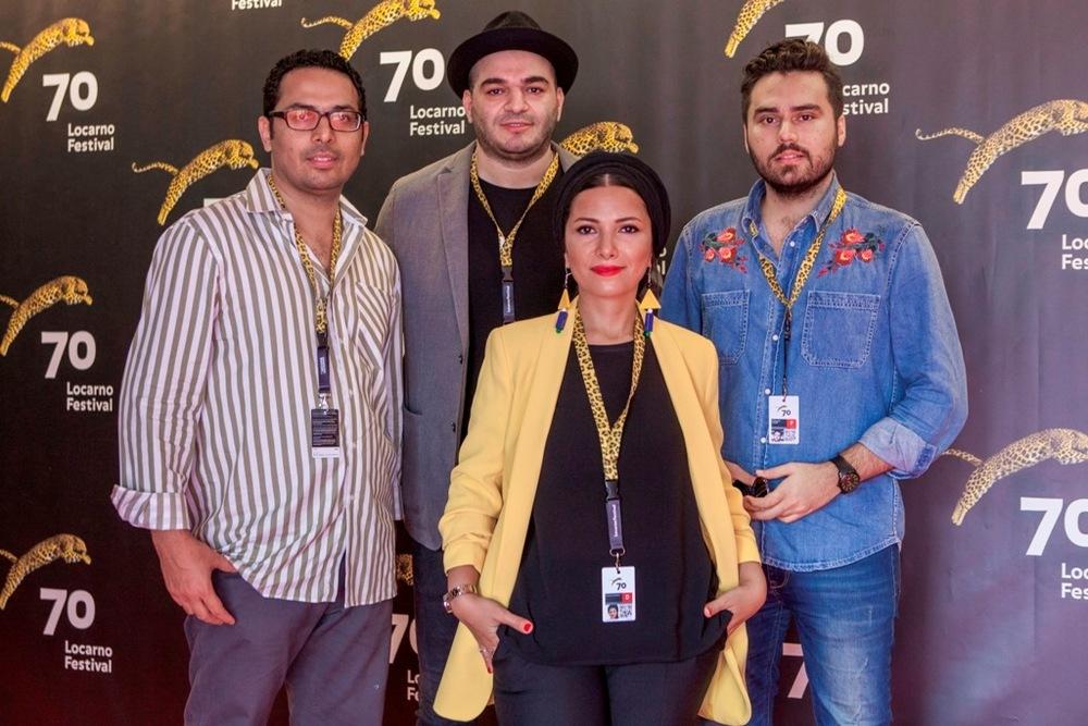 عوامل فیلم کوتاه «نگاه» در جشنواره فیلم لوکارنو
