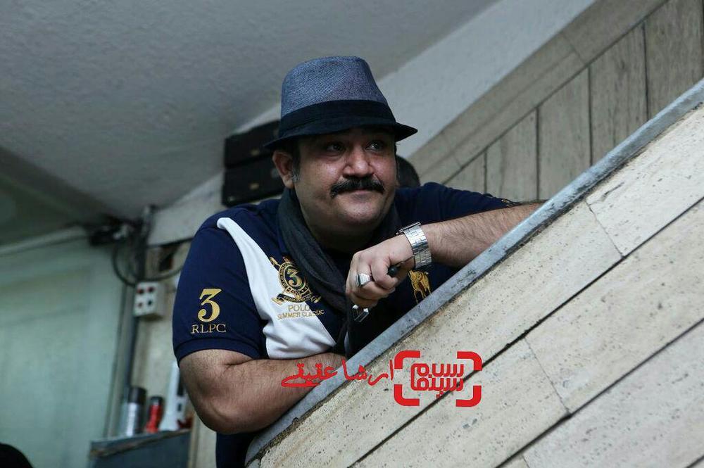 مهران غفوریان در اکران خصوصی فیلم «خالتور»
