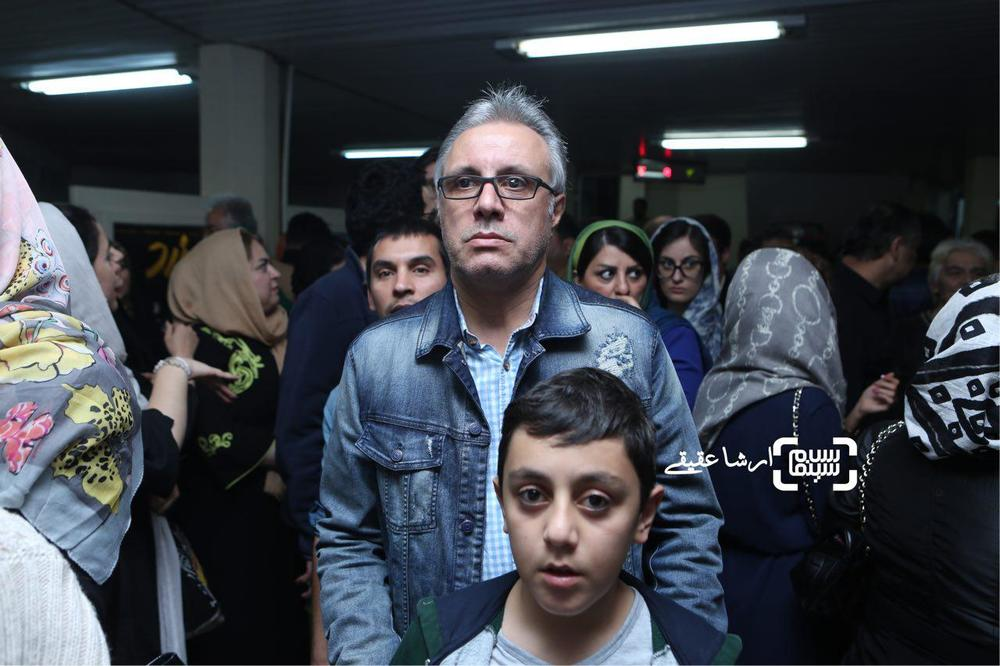 علی فروتن در اکران خصوصی فیلم «خالتور»