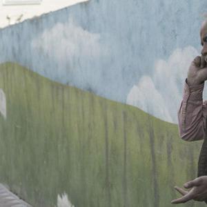 سعید آقاخانی در نمایی از فیلم سینمایی «کامیون»