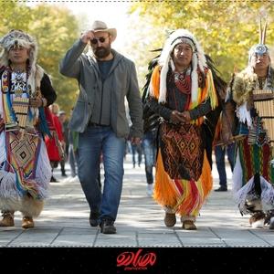 مهران احمدی در پشت صحنه فیلم «مصادره»