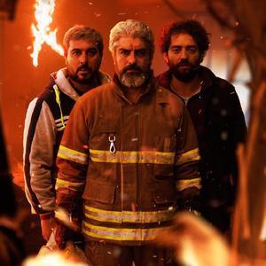 بهرام رادان، مهدی پاکدل و محسن کیایی در فیلم «چهار راه استانبول»