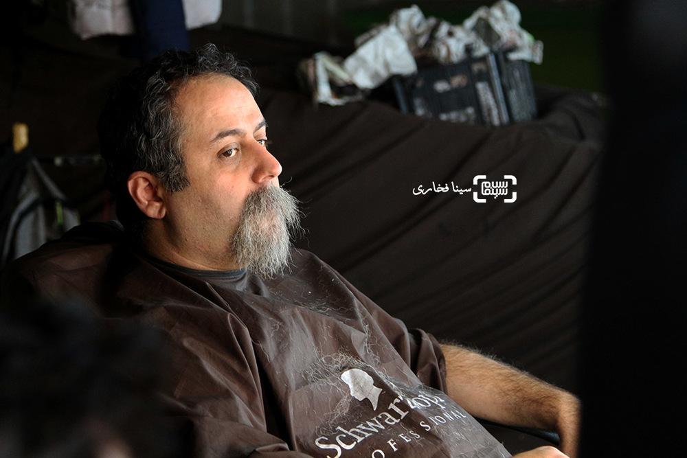ابراهیم شفیعی در پشت صحنه فیلم «آهوی پیشونی سفید2»