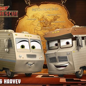 نمایی از انیمیشن سینمایی «هواپیماها 2: آتش و نجاتم»(Planes: Fire & Rescue)