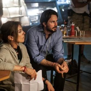 کاترین بیگلو و مارک بل در پشت صحنه فیلم «سی دقیقه بامداد»(Zero Dark Thirty)