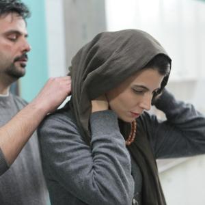 لیلا حاتمی و علی مصفا در فیلم «پله آخر»