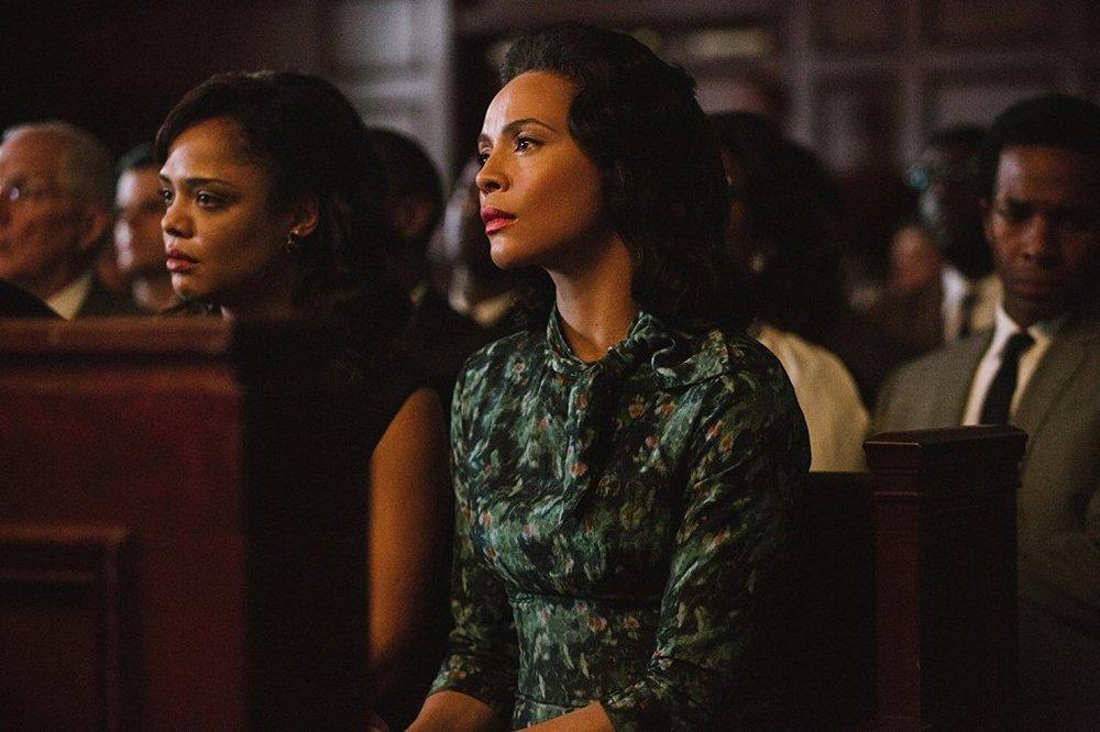 تسا تامپسون و کارمن ایوگو در فیلم «سلما»(Selma)