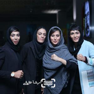 مهتاب کرامتی و خواهران افسانه ای ووشو ایران و جهان در اکران خصوصی مستند «صفر تا سکو»