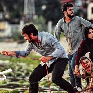 الهه حصاری، اندیشه فولادوند، کوروش تهامی و حسین مهری در فیلم «کروکودیل»