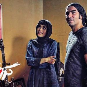 رضا یزدانی و اندیشه فولادوند در فیلم «کروکودیل»