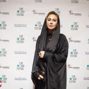 آنا نعمتی در سومین جشنواره فیلم سینهایران برای فیلم «آپاندیس»
