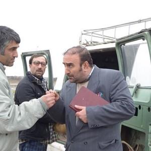 مهران احمدی، مجید صالحی و پژمان جمشیدی در فیلم «من دیوانه نیستم»