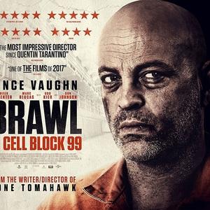 پوستر فیلم «شورش در سلول 99»(brawl in cell block 99) با بازی وینس وان