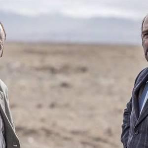 محسن تنابنده و رضا عطاران در فیلم گینس