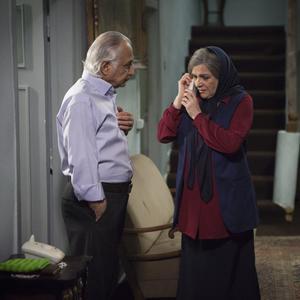 شمس لنگرودی و گلاب آدینه در فیلم سینمایی «دوباره زندگی»