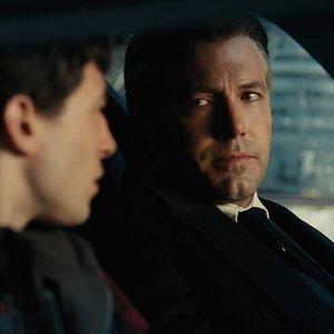 """ازرا میلر و بن افلک در فیلم """"لیگ عدالت"""""""