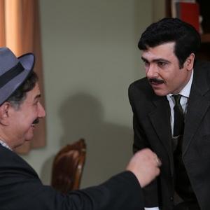 کوروش تهامی و آتیلا پسیانی در قسمت دوم سریال «آشوب»