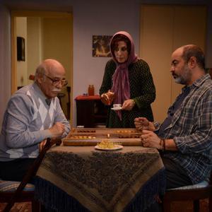 فاطمه معتمدآریا، سعید آقاخانی و رضا بابک در فیلم «بنفشه آفریقایی»